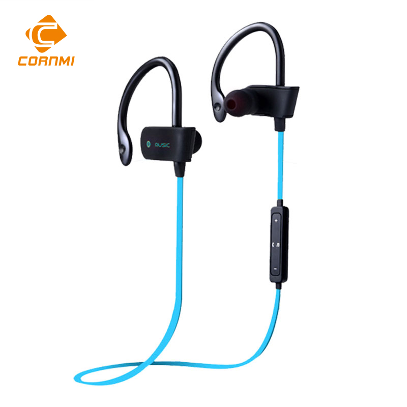 CORNMI Bluetooth 4.0 Headset Wireless Stereo Sport Earphone Music  Headhone Sweatproof For iPhone For Samsung Xiaomi<br><br>Aliexpress