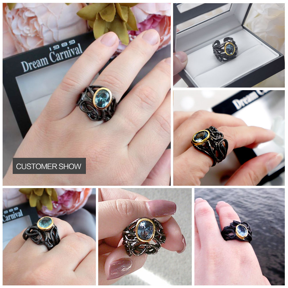 black color rings 11