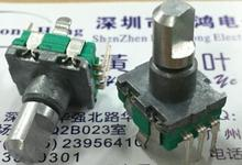 EC11 type encoder with switch 20 positioning 20 pulse axis length 14MM car DVD potentiometer free shippping
