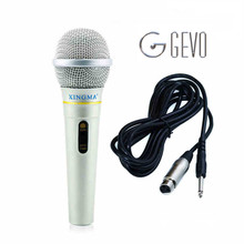 GEVO AK 319 dynamic microphone professional wired handheld karaoke microphone studio sound system party KTV amplifier(China)