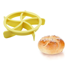 Baking Tools Kitchen Pastry Baking Tools 1PC Portable Homemade Bread Rolls Mold for Bread Line Roll Maker Accessories ZQ892870