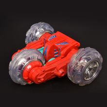Mini RC Stunt Car Electric Rotating Wheel Vehicle Motor Remote Control