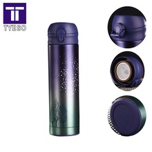 creative thermos stainless steel   termos star sky thermo mug office termo travel mug gold vacuum cup cafe simply color
