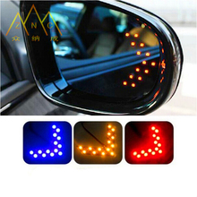 14 SMD LED CFEG Arrow Panel For Car Rear View Mirror Indicator Turn Signal Light 1pcs(China)