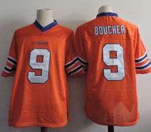 The Waterboy Adam Sandler Movie #9 Bobby Boucher White Football Jersey Forrest Gump 44 University of Alabama Football Jersey(China)