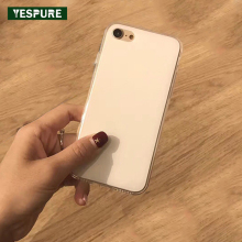 YESPURE Wholesale TPU Cheap Handphone Accessories Protector for IPhone 6plus White Soft Mobile Back Cover Antigravity for 6splus(China)