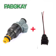 1 piece High performance 1600cc CNG fuel injector 0280150842 0280150846 for ford racing car truck with wire plug(China)