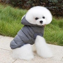 New Pet Dog Cotton Fleece Winter Warm Clothes Thicken Jacket  Puppy Dogs Coat Outwear Mascotas Roupa De Cachorro Pet Shop 7677