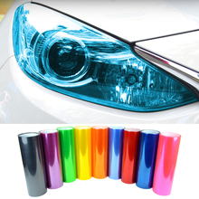 "Car Styling Newest 13 Colors 12""X40"" 30CMX100CM Auto Car Light Headlight Taillight Tint styling waterproof Vinyl Film Sticker(China)"