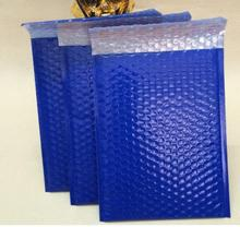 Qi 50pcs/lot 20*25cm Orange Bubble Envelope Mailer Express Pedded Gift Mailing Plastic Bags Shipping Envelope Bags