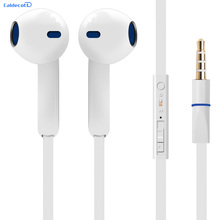 2017 New Portable Earphones 3.5mm Current Earphones High Quality Best Bass Headset for Xiaomi IPhone 5 5S 4 6 Plus Samsung MP3