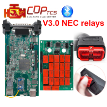 CDP TCS cdp pro plus nec relays V3.0 Double Green board Bluetooth 2015.R3 keygen OBDII OBD2 cars trucks scanner diagnostic tool(China)