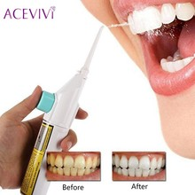 ACEVIVI Portable Water Jet Pick Dental Cleaning Teeth Floss Oral Hydro Flosser Irrigator Teeth Cleaner Whitening Machine(China)