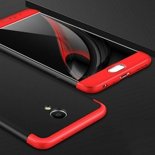 "2017 New 3 in 1 Hard PC Full Body Protective Anti-Finger Shock Cover for Meizu M3 Note 5.5"" Patch Color Luxury Durable Case(China)"