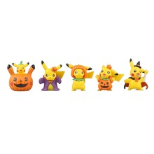 Pocket Monster Go Game Keychains Pikachu Halloween Pumpkin Pendants Accessories Ring Christmas Gifts XLPKQ045 - InToyCity store