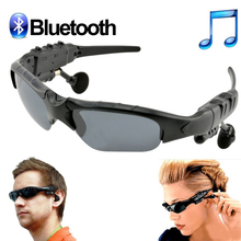 Wireless Bluetooth Earphone Polarized Driving Glasses Sport Sunglasses MP3 Player Handsfree Digital Bluetooth Glasses Earphones(China)