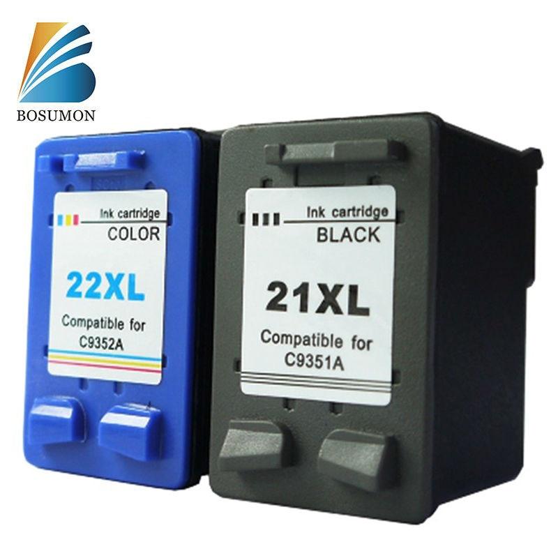 Bosumon Ink Cartridge for HP 21 22 xl compatible with Officejet 3910 3920 3930 3940 D1311 D1320 D1330 D1341 D1360 D1420 D1430<br><br>Aliexpress