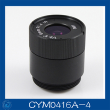 "3MP. cctv camera lens 4mm Fixed Iris lens, 1/2.5"" cs  for Security Camera, Free shipping.CYM0416A-4"