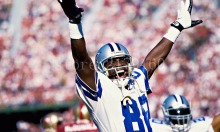 hot sale 3x5ft digital printed dallas cowboys NO.88 Dez Bryant player wallpaper flag with gromments(China)