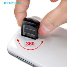 New Mini Detachable Magnetic Periscope Universal Black 360 Multi Mobile Phones Lens For iphone 5 6 Samsung S Mobile Phone Lenses