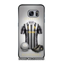 Custom Name Jersey JUVENTUS Cover Case for Samsung Galaxy S3 S4 S5 mini S6 S7 edge plus active Note 2 3 4 5 7 Silicon