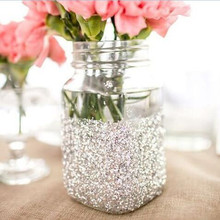 100g / Pack Sparkle Gold Silver Glitter Bling Tiny Sequin For DIY Wedding Party Bridesmaid Centerpieces Decorations Favors Gift