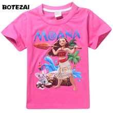 Buy 2017 New Children Cartoon Baby Girls Tops & Tees Kids Clothes Girl T Shirt Camiseta Moana Short Sleeve T-Shirt Cotton Clothing for $5.59 in AliExpress store