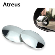 Atreus 2x Car Styling High Definition Rearview Mirror Sticker For Mercedes benz W204 W203 W211 AMG Mini cooper Skoda octavia a5(China)