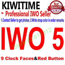 Bluetooth Smart Watch iwo 5 1:1 SmartWatch case for apple iPhone Android Smart phone Reloj Inteligente pk apple watch iwo 4(China)