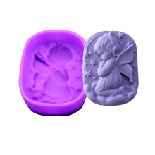 Angel Girl Natural Soap Handmade Soap Mold Silicone Cake Ice Modeling Tool Pastry Arts Decorative Kitchen Accessories