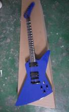 Free Shipping E$P Custom Explorer Model electric guitar 2 Pick ups in Blue 131106