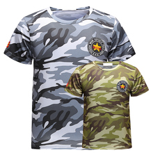 130kg Can Wear Big Size Beach T Shirts Men New Polyester Camouflage Pattern Sport Tops 5XL 6XL 7XL 8XL Beach Surfing Tshirts