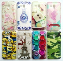 New Arrival Back Covers For Alcatel One Touch Pop d5 5038e 5038 5038d Case Hard PC Plastic Back Case Many Patterns Choose Gifts