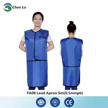 Подлинная больница/фабрика/для лабораторий gamma ray and x-ray protective overskirt radiological protection 0,5 mmpb lead dress(China)