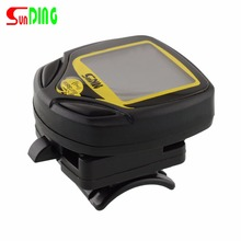 Buy SunDing SD-548C Bike Computer Wireless 15 Functions LCD Display Waterproof Bicycle Speedometer Odometer Racing Cycling Stopwatch for $11.28 in AliExpress store