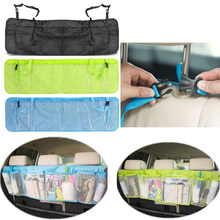 Car Back Seat Organizer Storage Bag Kick Mat Protector Tissue Box Travel holder Pouch Hanger Accessories(China)
