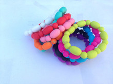 Silicone Teething Bracelet. Carlis Baby Chewable Nursing Bracelet for Mom and Baby. teether. BPA FREE