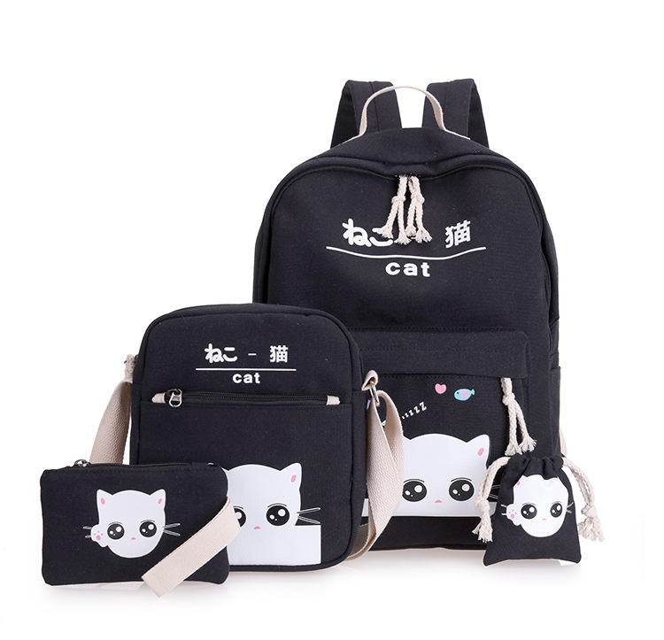 حقيبة الظهر للأطفال 4 قطع 3