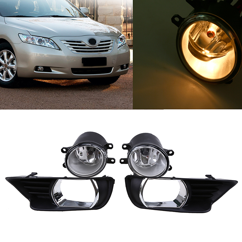 1 Set Car Front Bumper Grille Driving Fog Light Lamp with font b Wiring b font camry wiring harness reviews online shopping camry wiring Headlight Wiring Harness Replacement at readyjetset.co