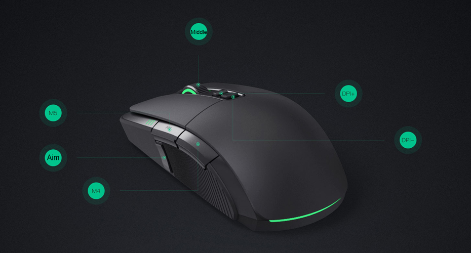 Original-Xiaomi-Gaming-Mouse-Wireless-For-Overwatch-and-Dota-2--Programming-Mouse-Gamer-7200-DPI-RGB-Wired-Wireless-Dual-Mode-9