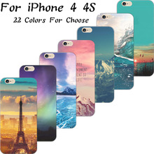 4 4S Painting Beautiful Scenery Elk TPU Cover For Apple iPhone 4 iPhone 4S Cases Case For Phone4S Phone Shell Best Choose Hot
