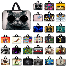 "9.7 10 12 13 14 15 17"" Cat Notebook Sleeve Computer Laptop Bag 10.1 11.6 13.3 15.4 15.6 For Samsung Lenovo Asus Dell #R(China)"