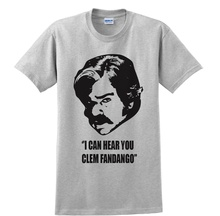 2017 Fashion Matt Berry A Toast To London I Can Hear You Clem Fandango Unisex Grey T Shirt Custom Print Casual O-Neck Top Tee