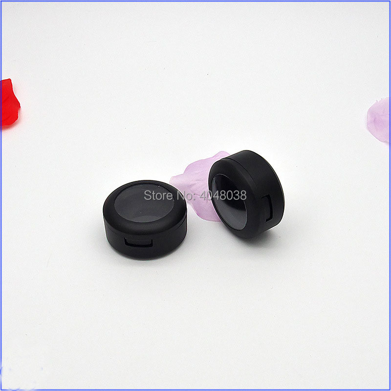 Eye Shadow Compact Matter Black Little Eyeshadow Palette Empty Cosmetic Container Monochromatic Lipstick Packing Box 50 PCS (4)