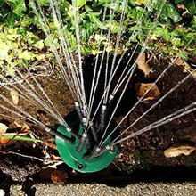 2017 New Noodlehead Flexible Water Sprinkler Spray Nozzle Lawn Garden Irrigation Sprinkler Rotating Plant Watering Drippers(China)