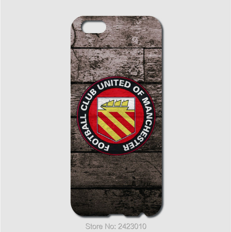 High Quality Cell phone case For iPhone 6 6S 7 Plus SE 5 5S 5C 4 4S iPod Touch 6 5 4 FC united of manchester Patterned Cover(China)