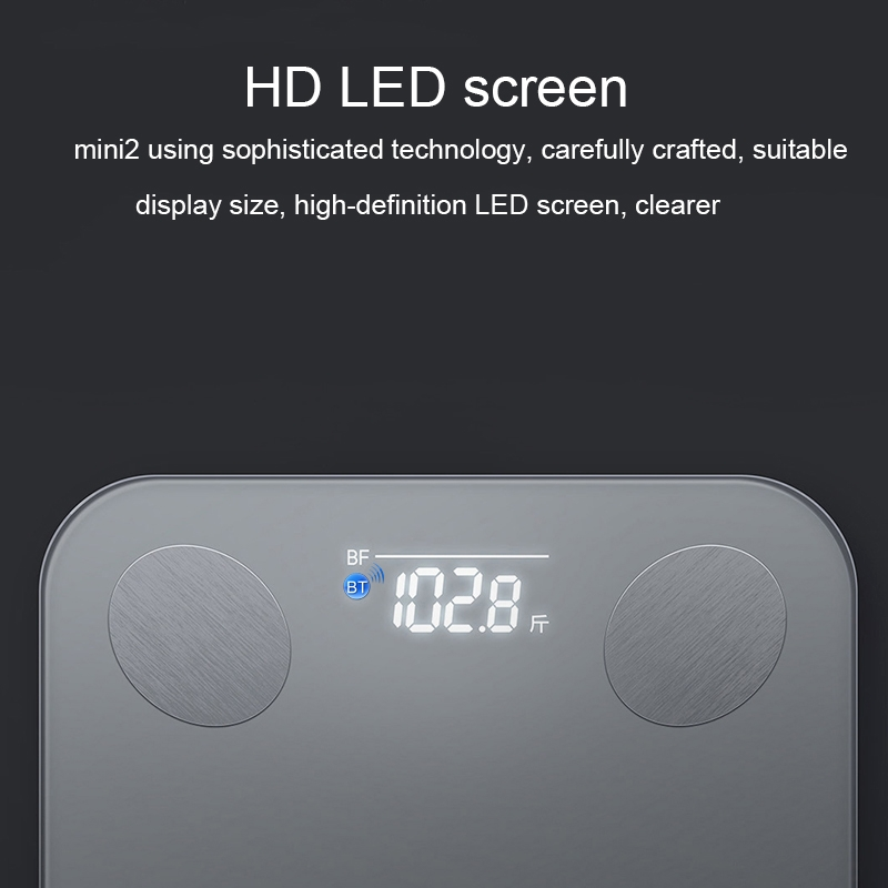 Original Xiaomi Yunmai Mini 2 Smart BT Digital Body weighing scale Health Analyser, Support Android / iOS