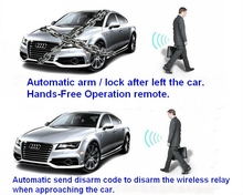 Automatic disarm unlock Proximity Immobilizer car alarm fuel pump cricuit cut-off RFID immobilizer anti-theft device(China)