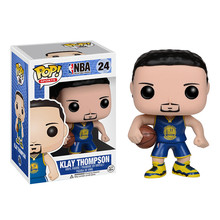 Funko POP Basketball superstar Klay Thompson Action Figure Collectible Model Toys Great quality Christmas Gift