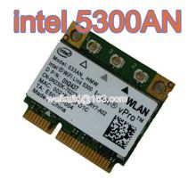 Intel WiFi Link 5300 Wireless LAN Half Size Mini PCI-E Wlan Card 450Mbps 533AN_HMW MIMO 802.11a/b/g 2.4/5.0 GHz INTEL5300agn(China)